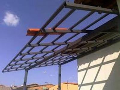 Cobertura em Estrutura Metálica Residencial Preço Jardim Sandra - Cobertura em Estrutura Metálica