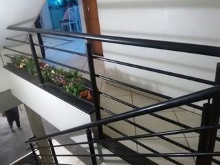 Corrimão e Guarda Corpo de Ferro Jardim Guarujá - Guarda Corpo de Ferro Simples