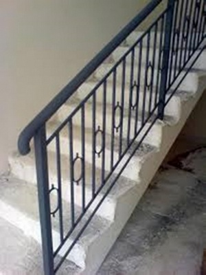 Corrimão Ferro Forjado Parque das Laranjeiras - Corrimão Alumínio para Escada