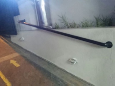 Corrimão para Cadeirante Jardim Guarujá - Corrimão para Escada Externa