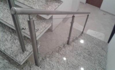 Corrimãos Inox para Rampa Parque Campolim - Corrimão para Escada Externa