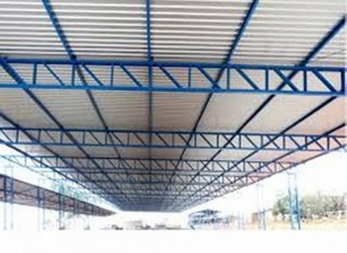 Estrutura Metálica Comercial Centro - Cobertura em Estrutura Metálica