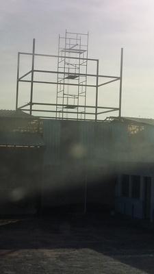 Estrutura Metálica Industrial Preço Centro - Cobertura em Estrutura Metálica para Galpão