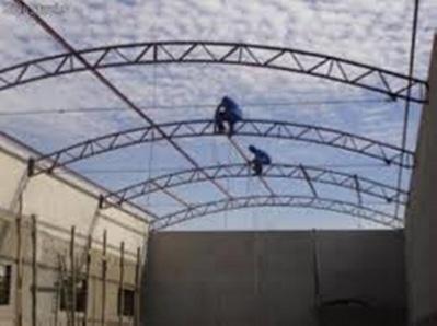 Estrutura Metálica para Quadra de Esporte Jardim Guarujá - Cobertura em Estrutura Metálica