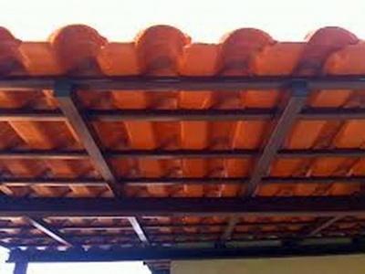 Estrutura Metálica para Telhado Residencial Wanel Ville - Cobertura em Estrutura Metálica