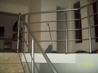 Guarda Corpo de Aço Escovado Preço Parque Jataí - Guarda Corpo de Ferro para Escada