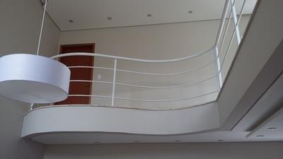 Guarda Corpos de Ferro Branco Jardim Toledo - Guarda Corpo de Ferro para Escada