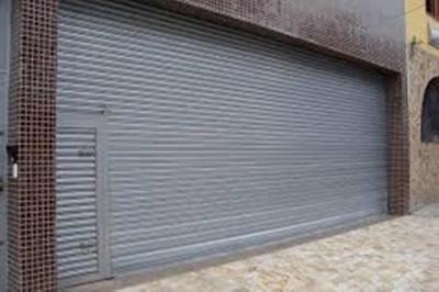 Portão de Aço para Comércio Jardim Vera Cruz - Portão Metálico
