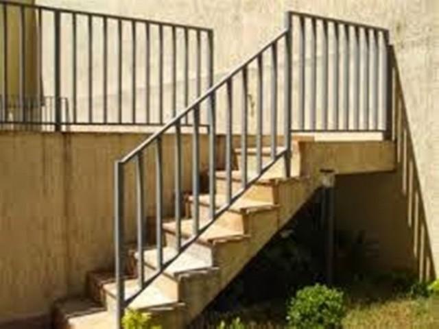 Quanto Custa Corrimão para Escada Externa Jardim Santa Marcia - Corrimão para área Externa
