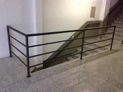 Quanto Custa Guarda Corpo de Ferro Simples Jardim Guadalajara - Guarda Corpo de Ferro para Escada