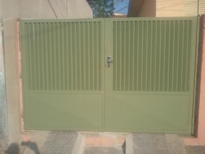 Quanto Custa Portão Chapa Metálica Jardim Devito - Portão Metálico