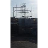 cobertura em estrutura metálica para galpão preço Parque Morumbi