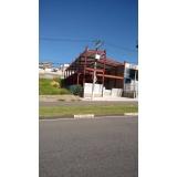 cobertura em estrutura metálica preço Jardim União