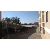cobertura em estrutura metálica residencial Vila Haro