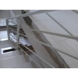 corrimão alumínio para escada preço Jardim Vera Cruz