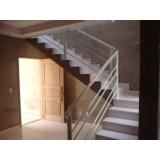corrimão para escada preço Parque das Laranjeiras