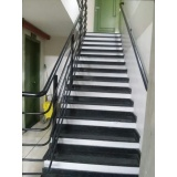 corrimão para escada Vila Pinheiros