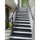 corrimão para escada
