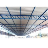 estrutura metálica comercial Vila Fiore