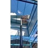 estrutura metálica industrial Parque das Laranjeiras