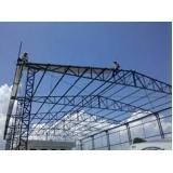 estrutura metálica para cobertura