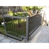 grade de proteção para jardim Jardim Santa Rosália