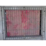 grades de proteção de ferro Centro