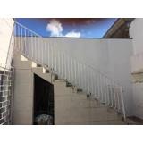 grade de proteção para escada