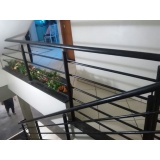guarda corpo de ferro para escada Vila Santa Rosália