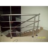 instalação de guarda corpo de aço galvanizado Vila Carvalho
