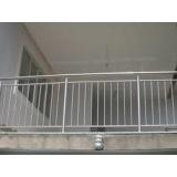 instalação de guarda corpo de ferro simples Vila Haro