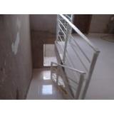 orçamento de corrimão alumínio para escada Jardim Maria do Carmo,