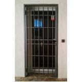 orçamento de grade de proteção para porta Além Ponte