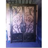 orçamento de portas de aço de correr Vila Porcel