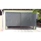 portão chapa metálica Jardim Piccinato