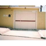 portão de aço para garagem preço Parque das Paineiras