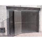 portão metálico basculante preço Vila Jardini