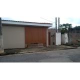 portão metálico de correr Jardim Emília