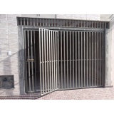 portão metálico preço Jardim Leocádia
