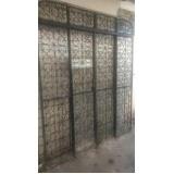 portas de aço de correr Jardim Palmira