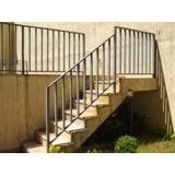 quanto custa corrimão para escada externa Jardim Maria José