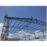 quanto custa estrutura metálica para cobertura Vila Florinda