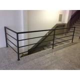quanto custa guarda corpo de ferro para escada Vila Mineirão