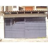 quanto custa portões metálicos para residências Jardim Sandra